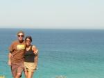 Paul & Birgit overlooking Atlanterra