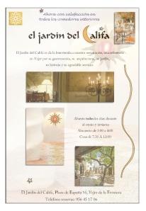 Vejer, Jardin del Califa calendario