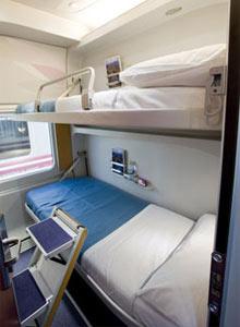 Renfe trenhotel sleeper c 001 news views from the califa for Elipsos trenhotel