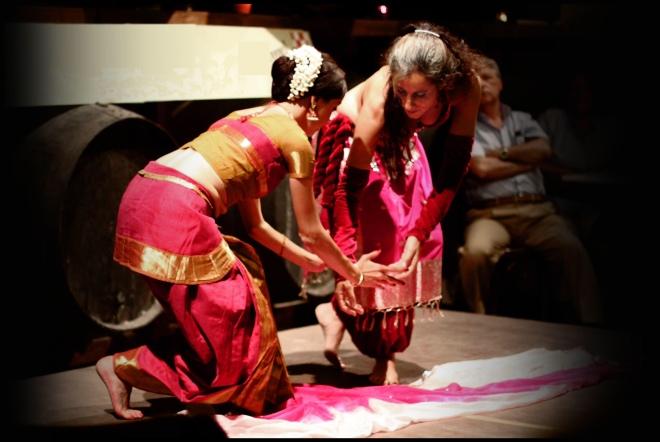 Danza India en el Jardín del Califa, Vejer