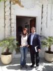 Regli Álvarez y José Ortiz - Alcalde de Vejer