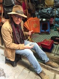 Califa menus fresh form the backstreets of Fez