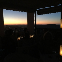 Sunset at Califa Tapas